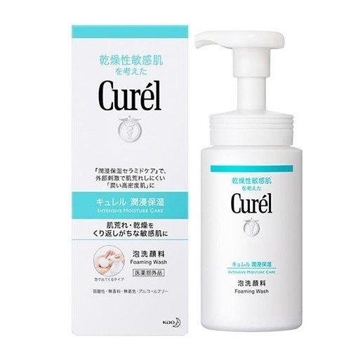 Curel - 豐盈泡沫潔面乳 150ml(乾燥性敏感肌)