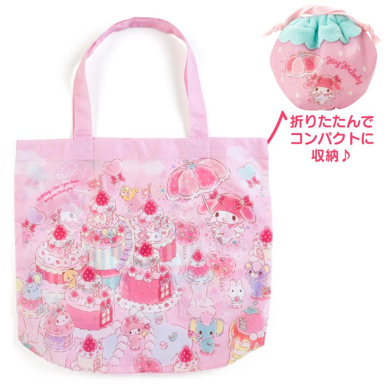 日本SARNIO Hello Kitty 折疊購物袋 [3款]