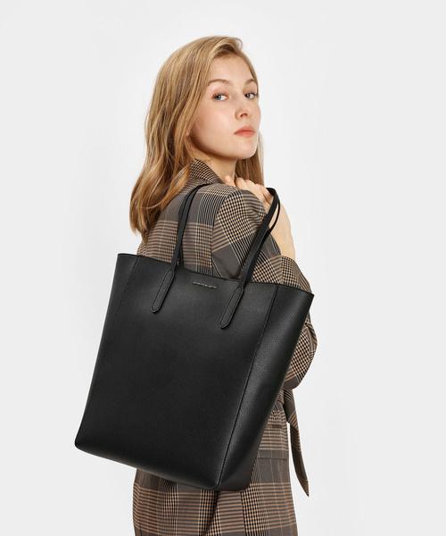 日本CHARLES & KEITH Classic Tote Bag [3色]
