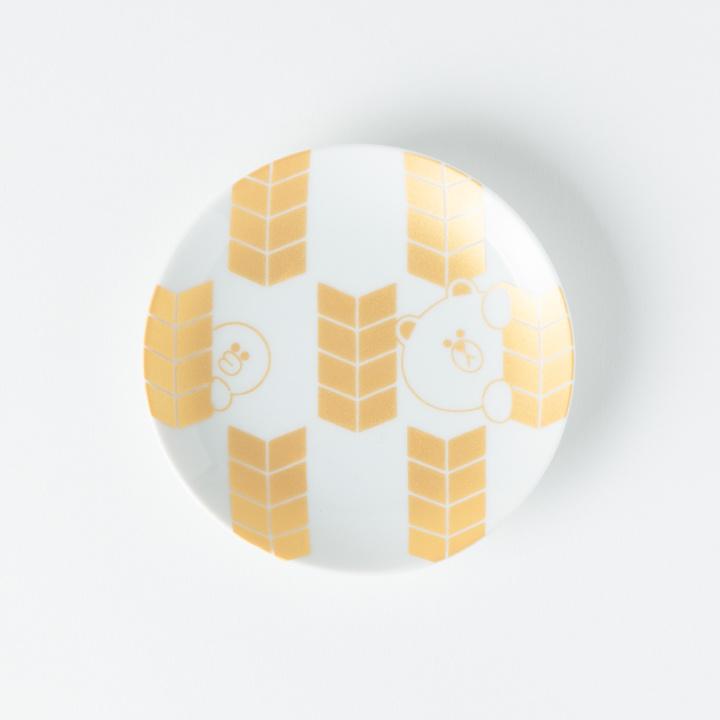 日本限定Line Friends 波佐見焼 豆皿セット禮盒
