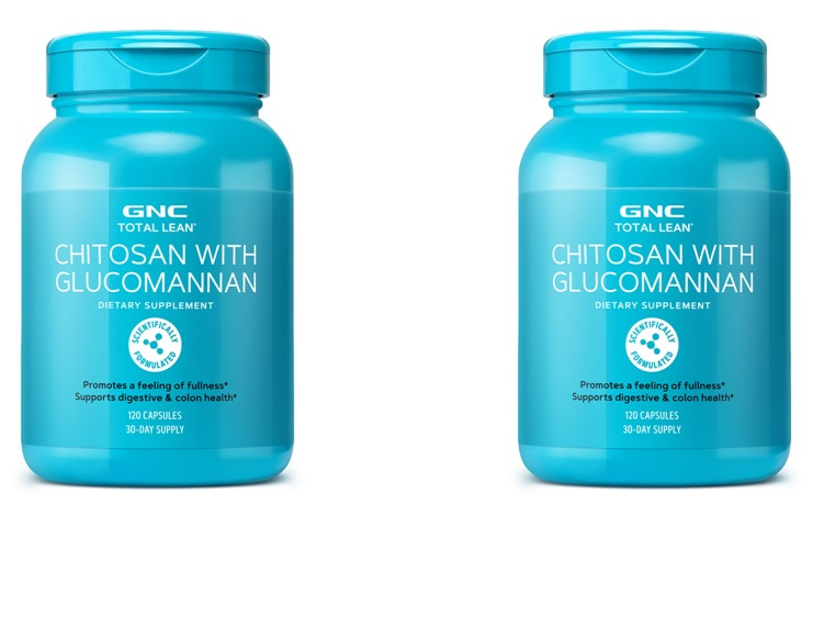 GNC 甲殼素 Chitosan with Glucomannan 2021 年最新版 [120粒]