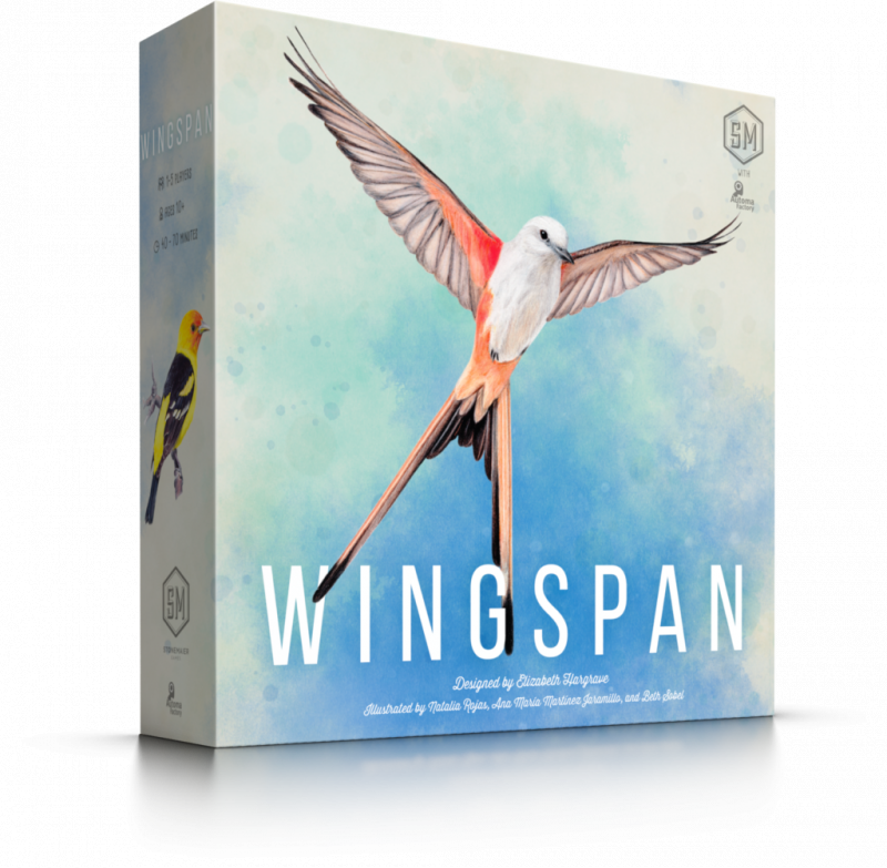 Wingspan (2nd Edition with 10 New Cards and New Player Guide)