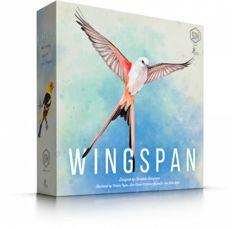 展翅翱翔 - Wingspan (2nd Edition with 10 New Cards and New Player Guide)