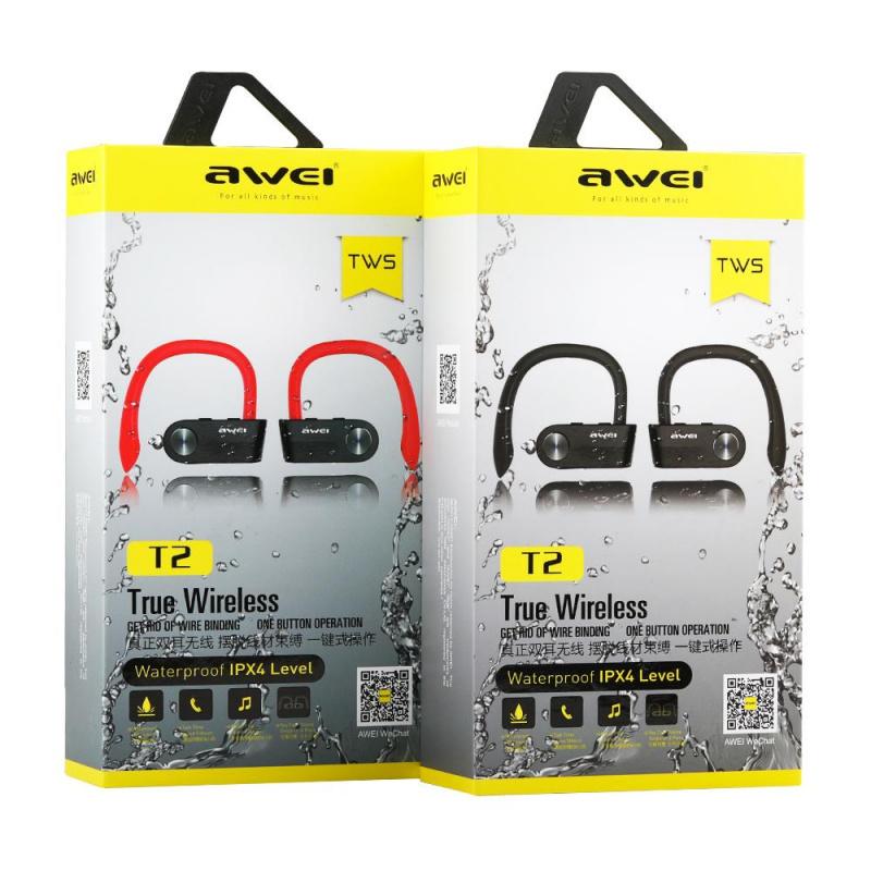 Awei T2 真無線藍牙運動耳機 [2色]