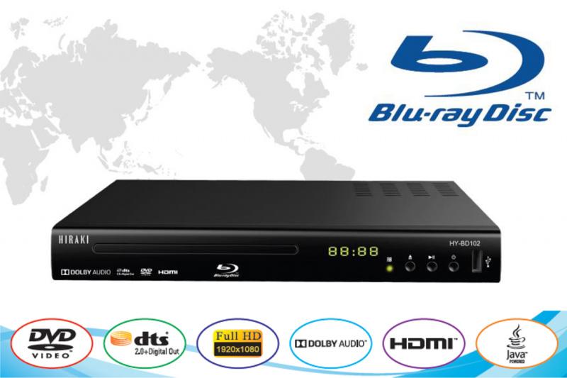 Hiraki Blu-ray 全高清藍光讀碟機 - HY-BD102