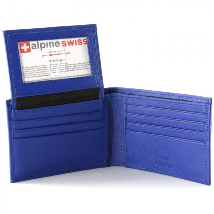 Alpine Swiss 時尚銀包(Blue) CPL-545-BLU