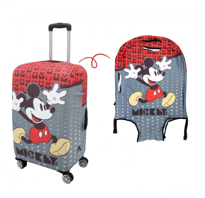 米奇行李箱蓋