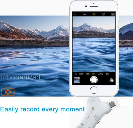 i-FlashDevice 四合一手機隨身讀卡器