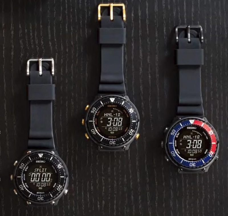 Seiko X Lowercase Fieldmaster Prospex 電子錶 [3款]