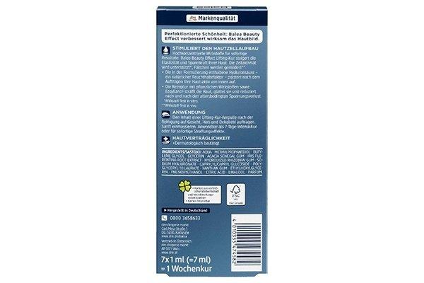 德國 Balea 芭樂雅 玻尿酸 水潤保濕安瓶再生精華 (最新版) 7ml 【市集世界 - 德國市集】