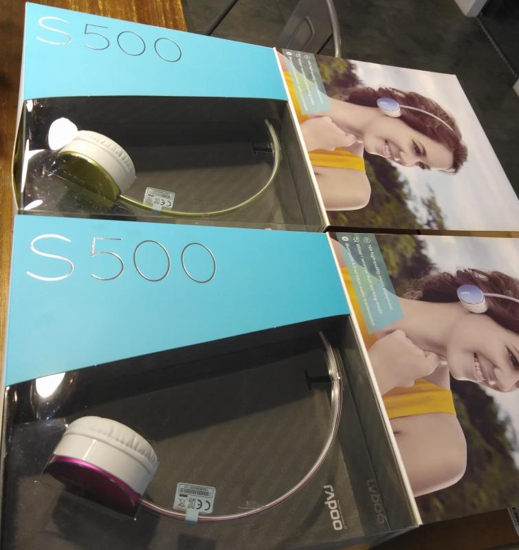 RAPOO S500 Bluetooth Stereo Headset