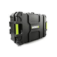 [香港行貨] Worx 威克士 全新推出WU934BX 20V孖寶系列(層疊工具箱版)Wt App 65227066 WORX 4.0油壓鑽+磨機(WU388+WU808)