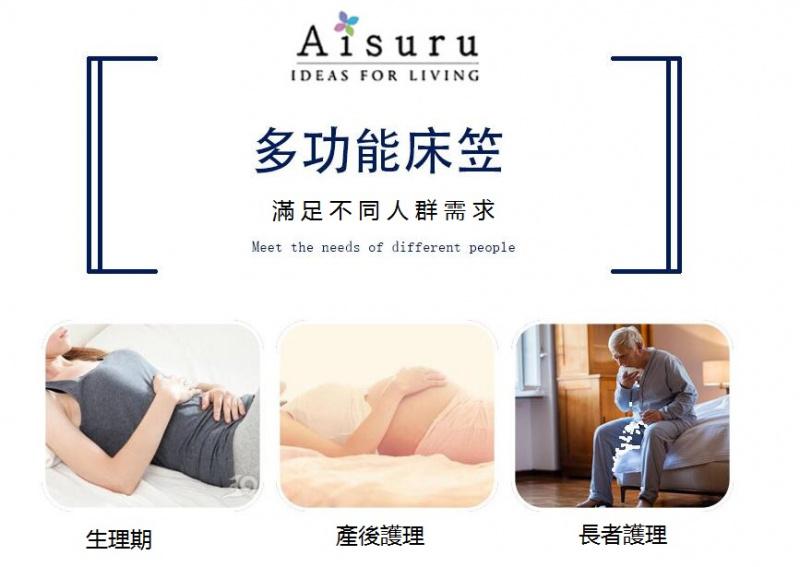 Aisuru 超防水純棉床笠 [4色 / 4尺寸]