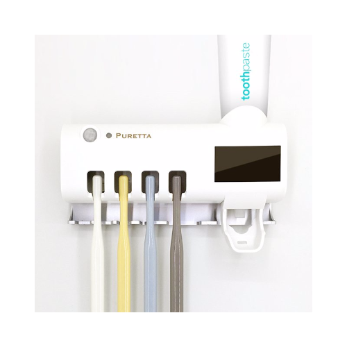 Puretta 太陽能紫外線滅菌牙刷置物架 [2色]