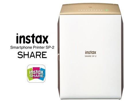 Fujifilm Instax Share SP-2 無線打印機 [金色]