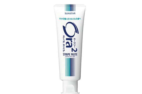 Ora²新微鈣淨白牙膏 - 直立軟管140g (兩支裝) 送 日本フレミアムケア超先細毛牙刷3支