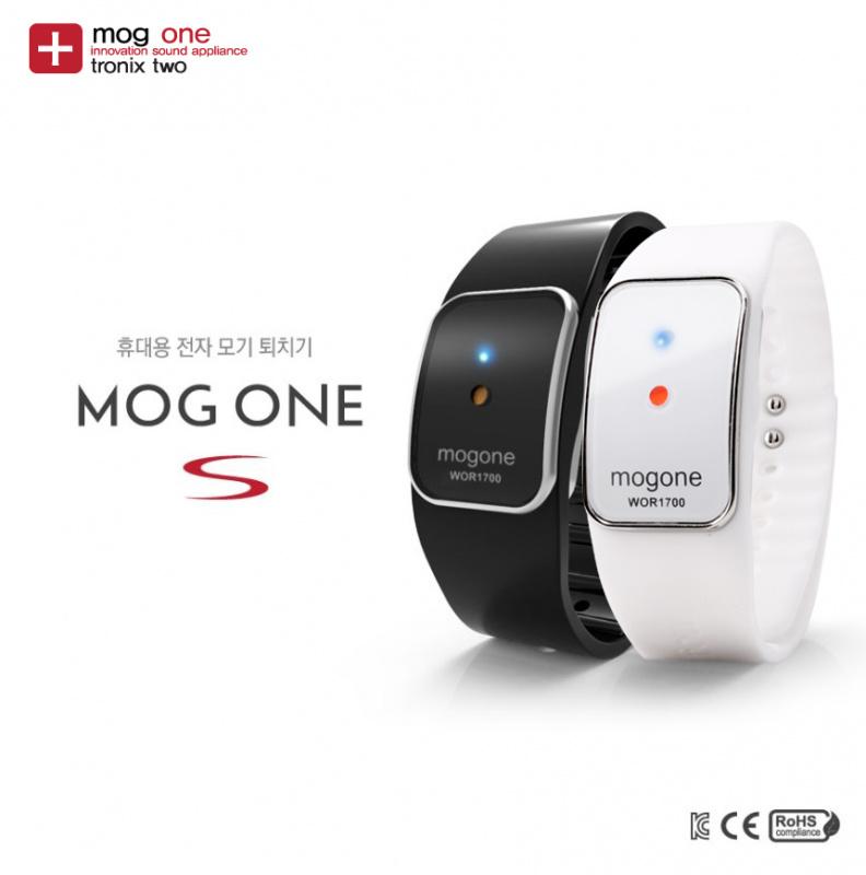 韓國 Mog One 電子聲波物理防驅蚊手環 [2色]