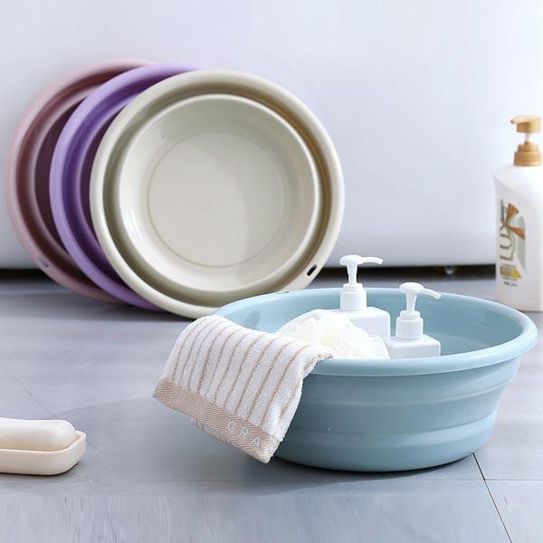 TSK 創意可折疊式洗臉盆