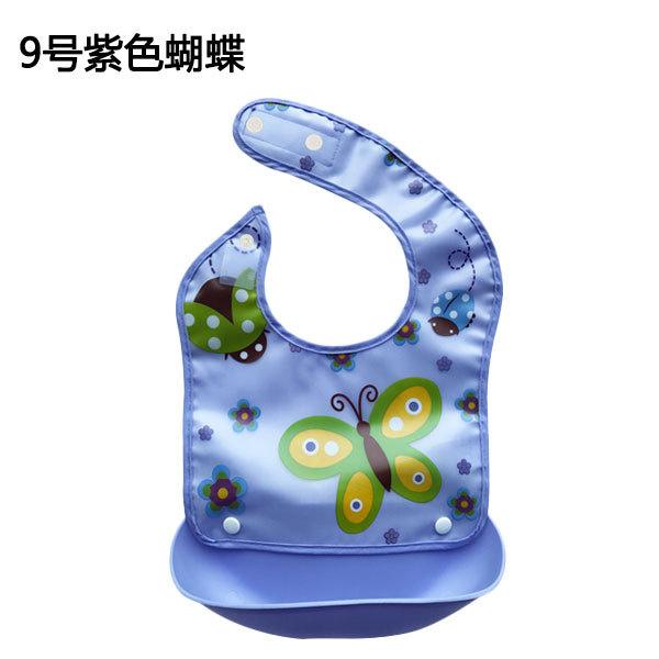 TSK 嬰兒學食卡通防水圍兜