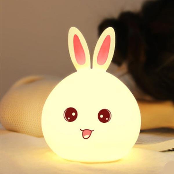 TSK led拍拍款兔仔小夜灯