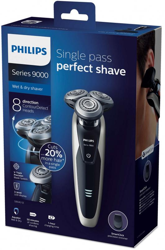 高階版 Philips Shaver series 9000 乾濕兩用電鬍刀 S9041/12