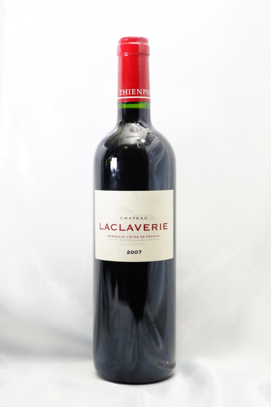 Chateau Laclaverie 2007 700ml 跟餐一流!(貼心服務,免運費,一支照送貨)