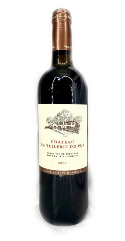 Chateau La Tuilerie Du Puy Grand Vin 2007 700ml 橡木桶陳年(貼心服務,免運費,一支照送貨)