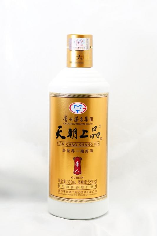 天朝上品 貴人酒 柔和醬香型白酒 (叧招零售) (貼心服務,免運費,一支照送貨)
