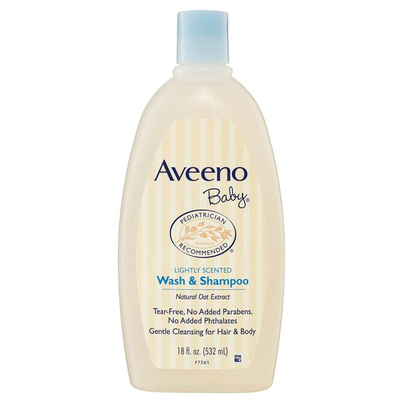 Aveeno 天然燕麥配方二合一洗髮沐浴露 532ml