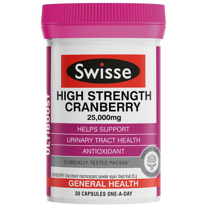 Swisse - Ultiboost 高濃度蔓越莓膠囊 - 30粒