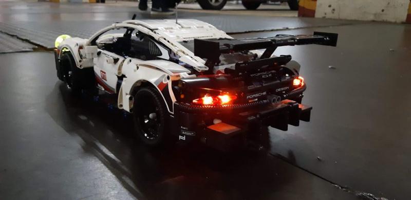 LEGO Brick Light 42096 Porsche 911 RSR 專用燈組 (不包括本體Lego)