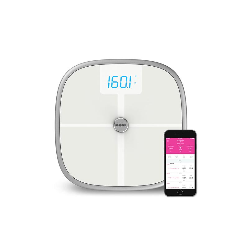 Koogeek BT Wi-Fi智能健康體重磅