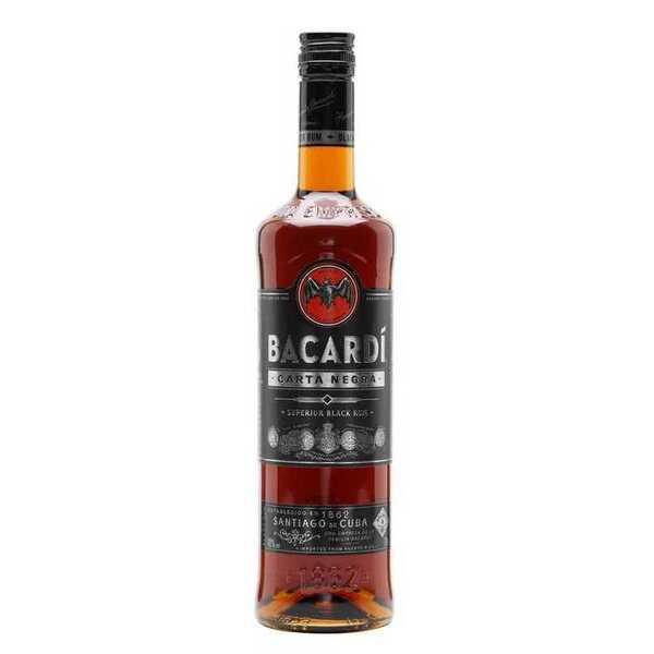 百加得黑朗姆酒 Bacardi Black Rum