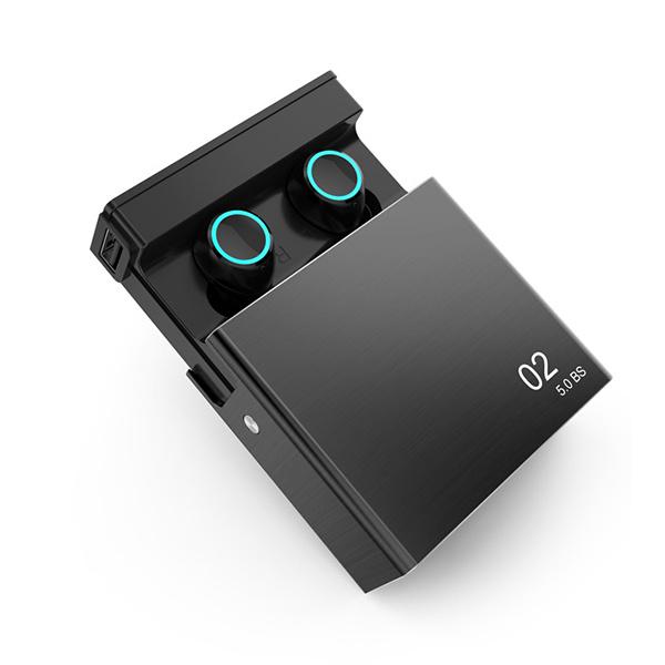 TSK 觸控防水TWS充電寶款5.0藍牙耳機