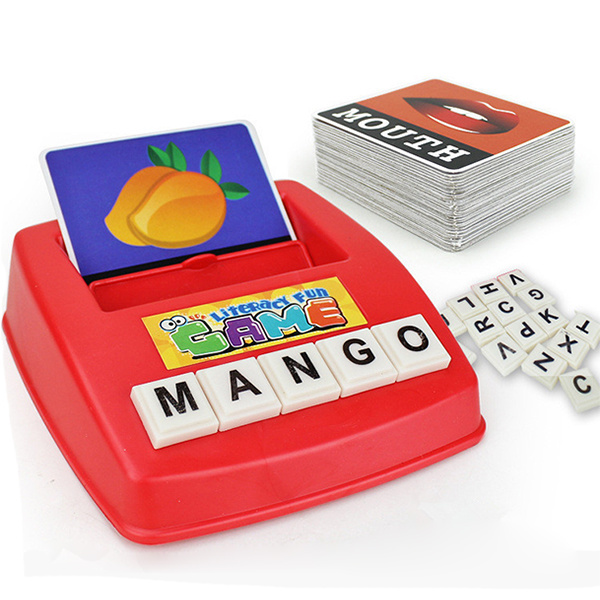 TSK 英文字母看圖識字卡片機