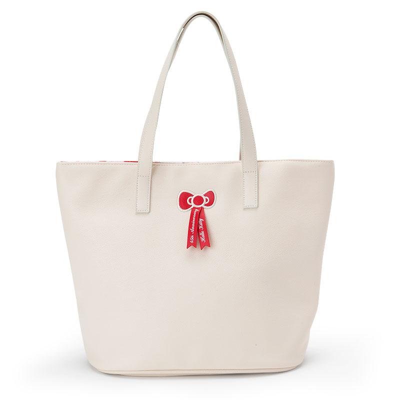 日本SANRIO Hello Kitty 45th周年手挽袋
