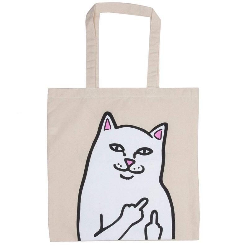 日本RIPNDIP中指貓布袋