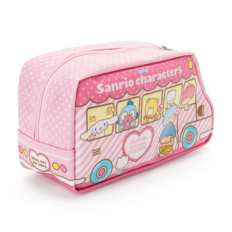 日本SANRIO Hello Kitty 巴士形筆袋 [2款]