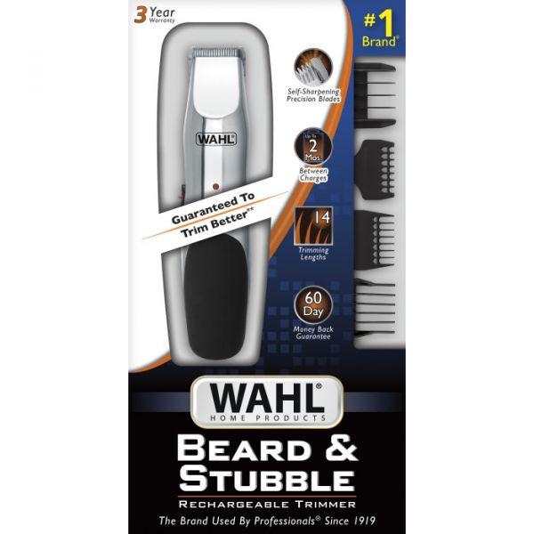 美國直送 WAHL Beard & Stubble Rechargeable Trimmer