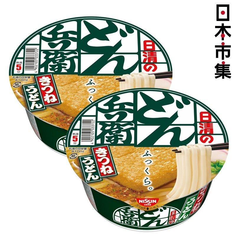 日版日清兵衛 腐皮昆布湯烏冬麵 96g (2件裝) 【市集世界 - 日本市集】