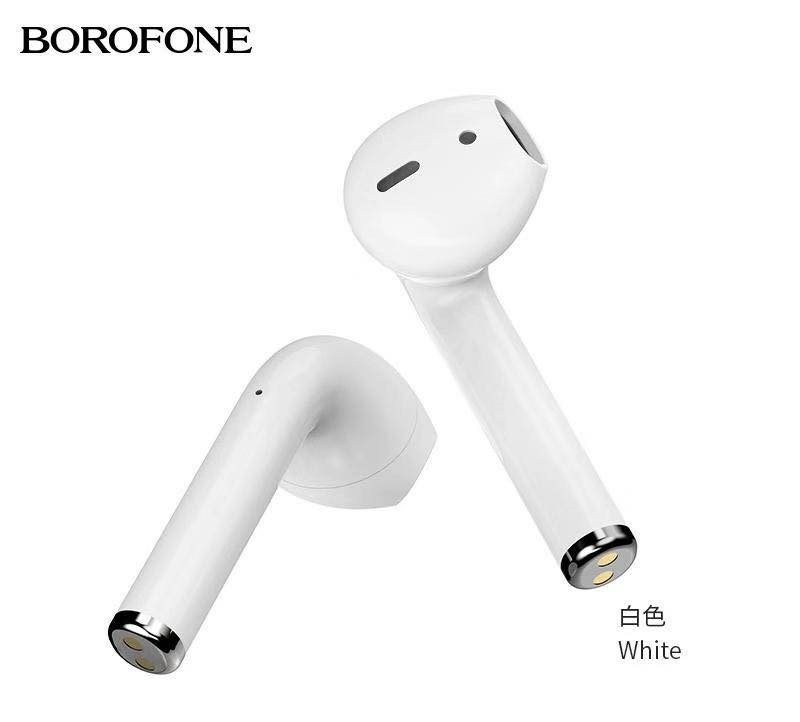 Borofone BE21plus 無線充電V5.0真藍牙耳機