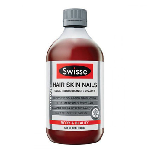 Swisse Hair Skin Nails 膠原蛋白液 500 mL