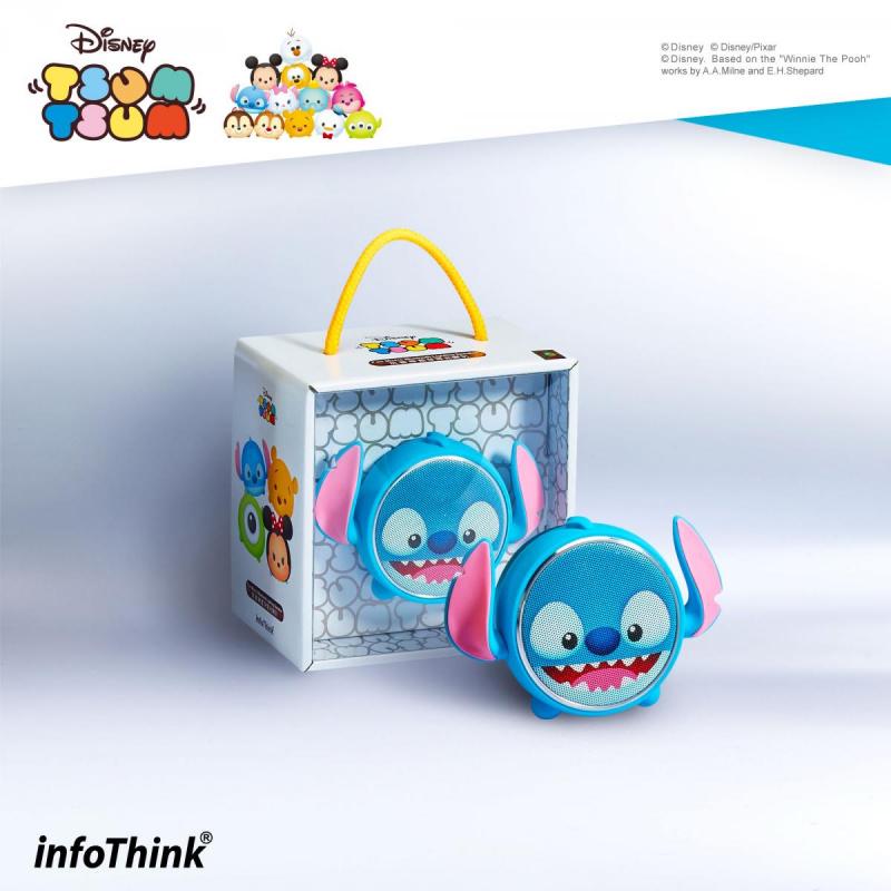InfoThink BSP100_ST TSUM TSUM玩音樂藍牙燈光喇叭-史迪奇 Stitch