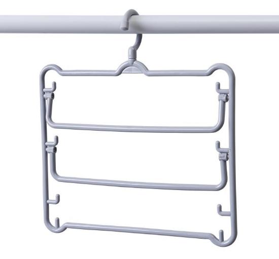 LOHAS - 三層旋轉多功能褲架(2件裝) (兩色)