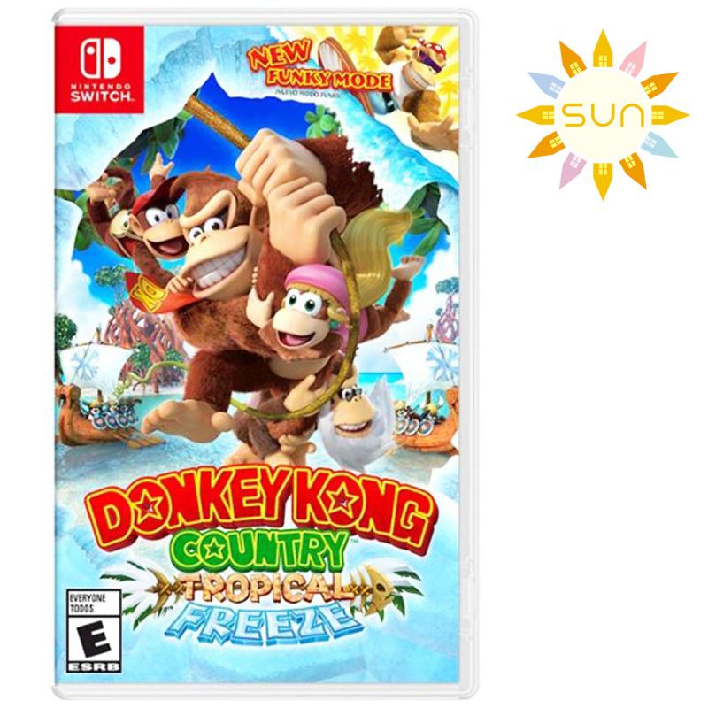 任天堂 - Switch Games - DONKEY KONG COUNTRY: TROPICAL FREEZE
