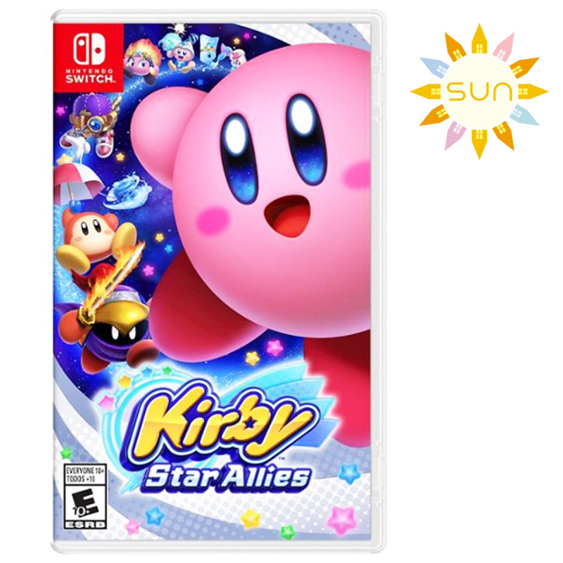任天堂 - Switch Game- KIRBY STAR ALLIES