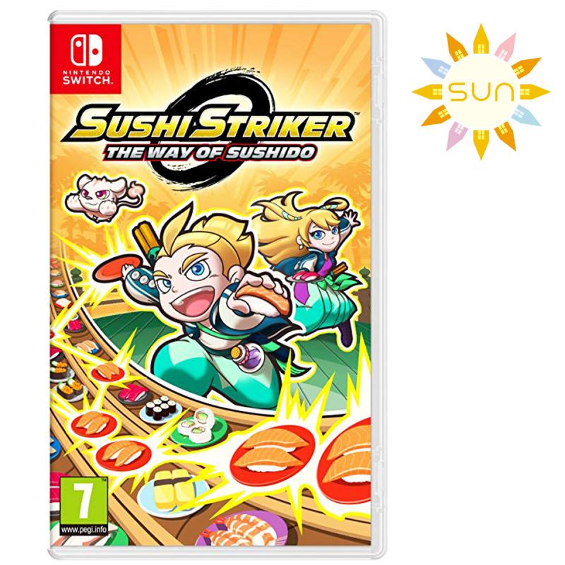 任天堂 - Switch Game-Sushu Stiker-The Way of Sushido [英文版]