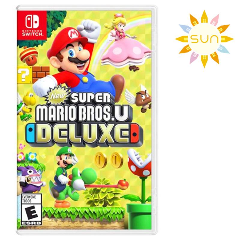 任天堂 - Switch遊戲 -Super Mario Bros U 超級瑪利歐兄弟U 豪華版 [中英文版]