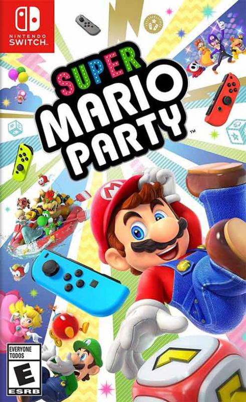 任天堂 - Switch Game - Mario Party [中英文版]