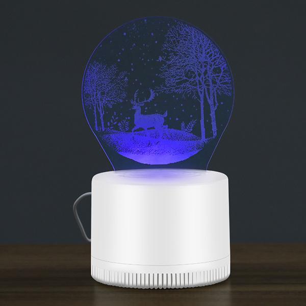 日本JTSK - 創意3D視覺無輻射滅蚊器